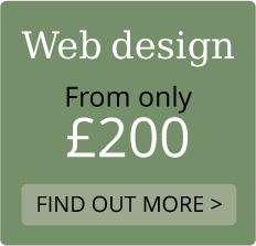 Web design from only £200  Find out more