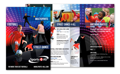 Sports 4 All Leaflet