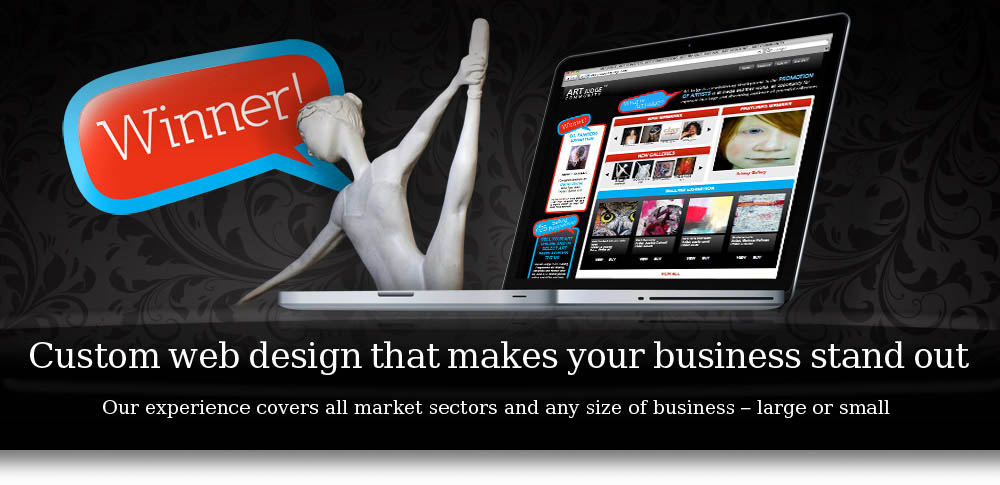 Custom web design that makes your business stand out, ecommerce, cms, admin system