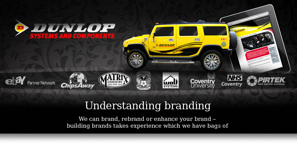 Understanding branding, we can brand, rebrand or enhance your brand