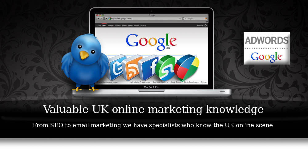 Valuable UK online marketing knowledge, seo, email campaign, email marketing, google adwords